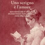 """Copertina libro poesie """"Uno scrigno è l'amore"""" 2007"""
