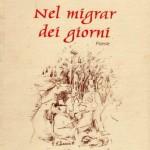 """Copertina libro di poesie """"Nel migrar dei giorni"""" 2000"""