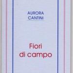 """copertina libro di poesie """"Fiori di campo"""" 1993, rieditato 2011"""