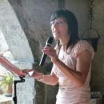 """Aurora Cantini alla Rassegna letteraria """"Aperitivo con l'autore"""" Rovetta (Bergamo)"""