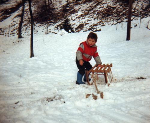 il piccolo Oscar al Roculì di Amora 1985