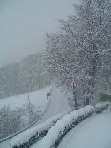 Inverno sull'altopiano di Aviatico
