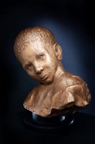 OCCHI DI BIMBO, Prince scultura di Luigi Oldani